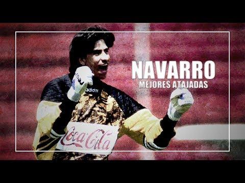 Nicolás Navarro ● Portero Histórico Del Necaxa ● Mejores Atajadas