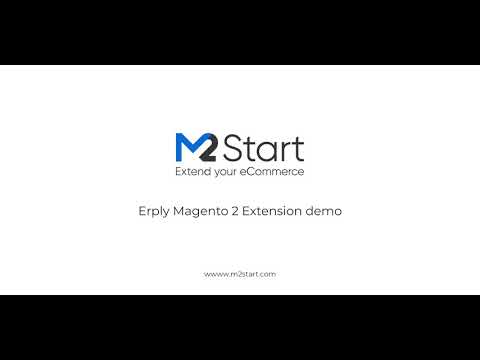 Erply Magento 2 Extension demo