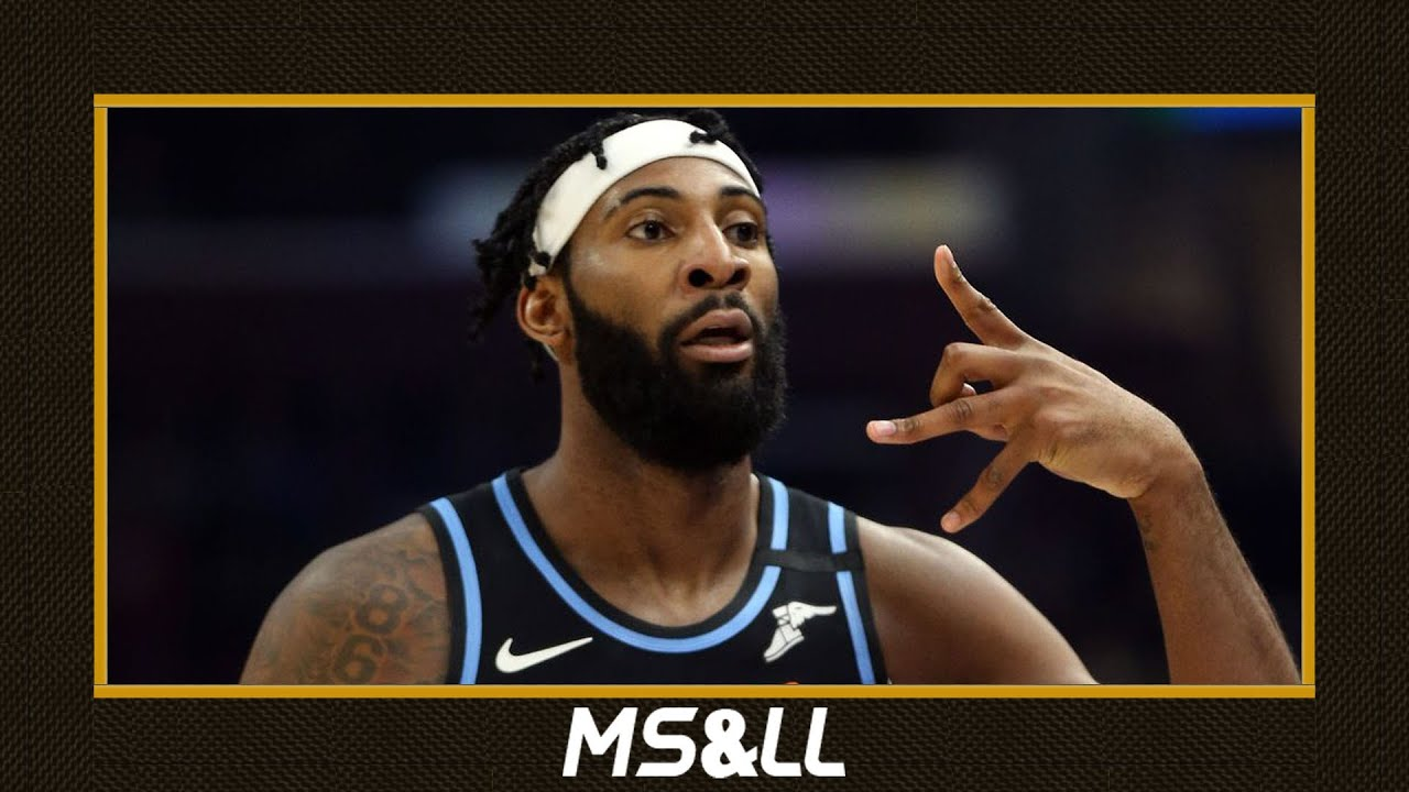 Cavaliers Center Andre Drummond Picking Up His Option for the 2020-21 NBA Season - MS&LL 6/23/20