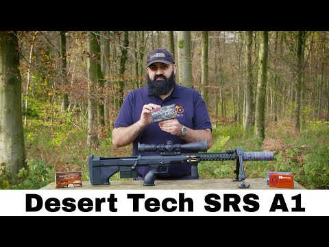 Desert Tech SRS A1 - Review & Shot Grouping