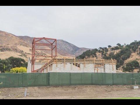Video Progress Report on the Pope St. John Paull II Athletic Center, November 2020