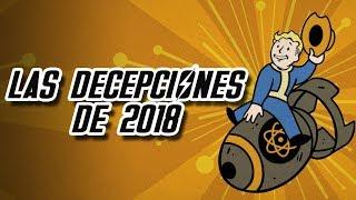 5 Juegos que decepcionaron en 2018