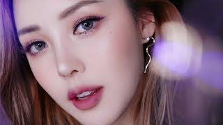 🔮Glittery soft purple Makeup (With sub) 글리터리 소프트 퍼플 메이크업