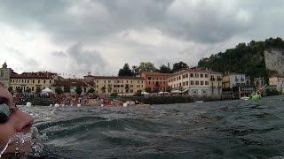 Traversata del Lago Maggiore, Angera - Arona 2014