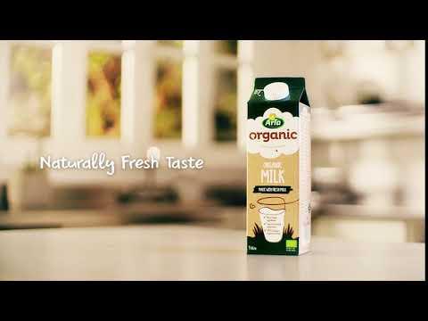 Arla Organic Milk - Naturally Fresh Taste