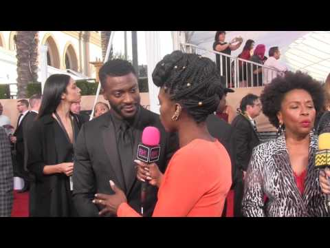 Aldis Hodge @ 2017 SAG Awards  Black Hollywood Live