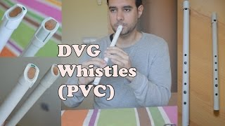 Some tunes on my new DVG Whistles by Guillermo del Val (D & A)