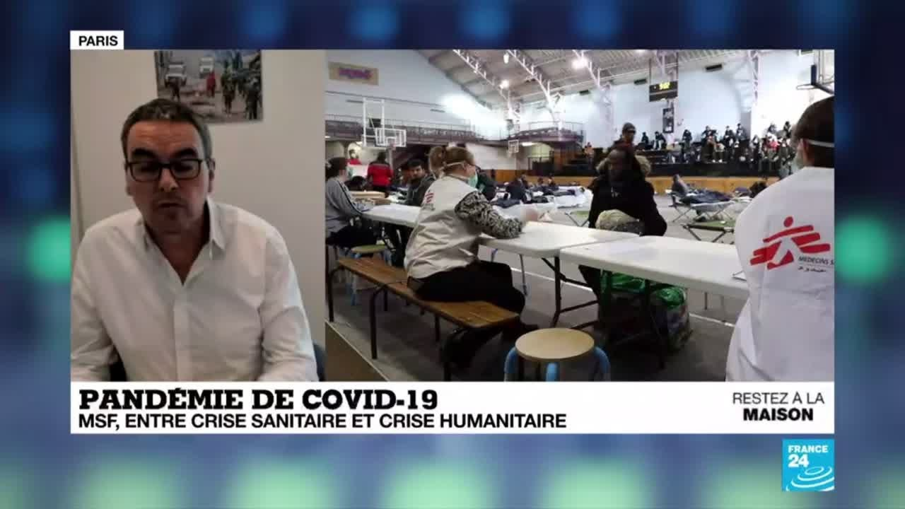 Pandémie de Covid-19 : MSF, entre crise sanitaire et crise humanitaire