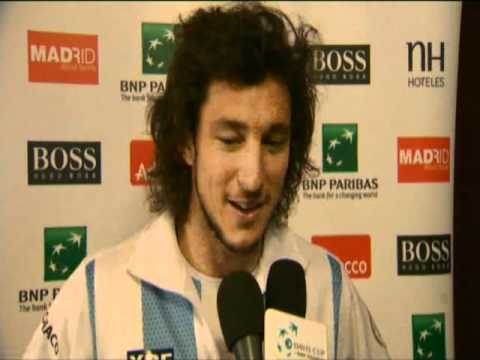 Davis Cup Interview: Juan Monaco