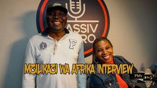 Award-winning journalist, author and musician Mzilikazi Wa Africa speaks on music, Africa and more