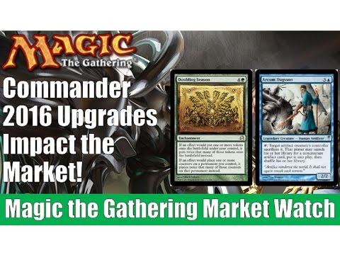 MTG Market Watch: Commander 2016 Upgrades Impact the Market!