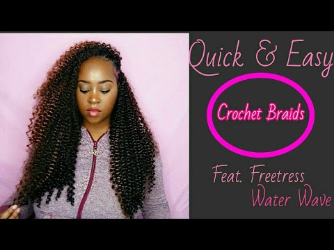 Quick & Easy Crochet Braids| Freetress Water Wave