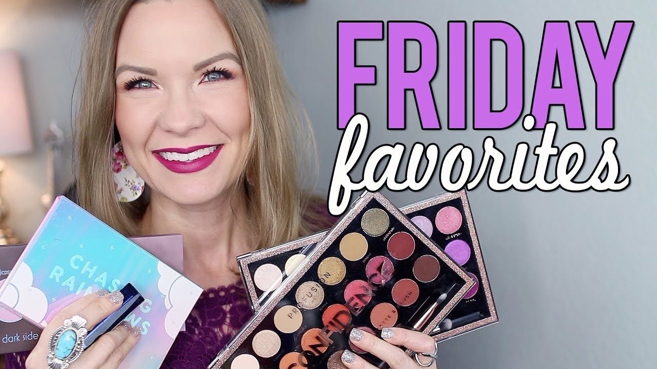 Friday favorites fooeys profusion colourpop