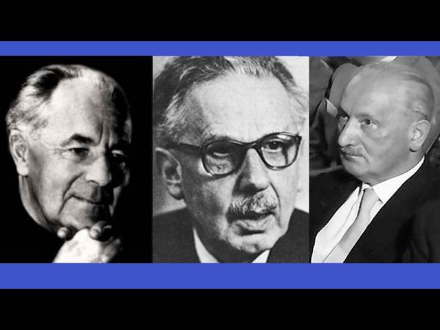 2017 Personality 12: Phenomenology: Heidegger, Binswanger, Boss