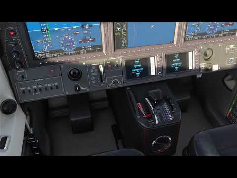 ST BARTHS to SABA in the TBM 930 FS2020