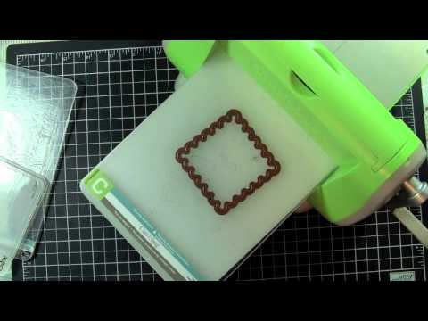 How to use other die cuts in your Cuttlebug
