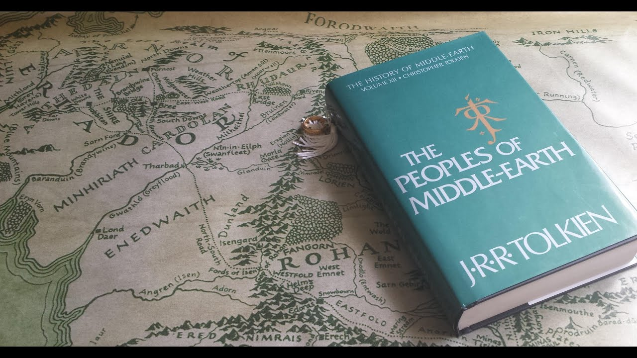 Middle Earth Peoples Elves JRR Tolkien Lord of the Rings PB ICE#2013 1st ED 1995
