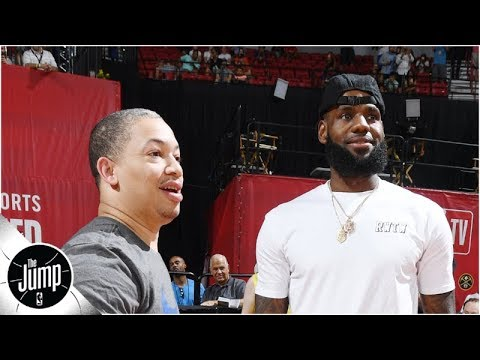 Tyronn Lue is the obvious choice' for Lakers, LeBron's next head coach - Tracy McGrady | The Jump