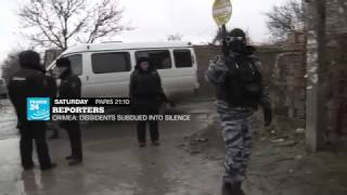 Reporters   Crimea  dissidents subdued into silence