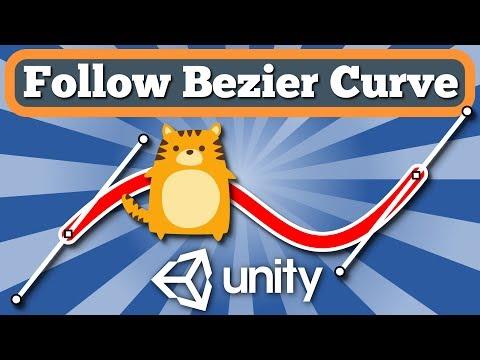 Unity Tutorial How To Make Game Object Or Character Move By The Bezier  Curve With Simple C# Script