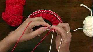 Peruvian Two-Color Knitting wit Andrea Wong, from Knitting Daily TV Episode 811