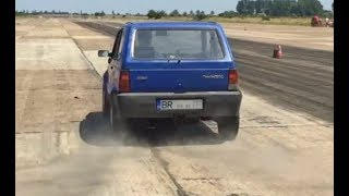Fiat Panda Turbo 200 Hp vs Fiat Punto Turbo - Drag Race Ianca 2017 by Alex Buzoianu Photo