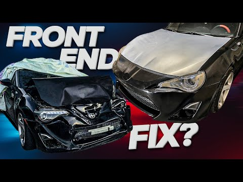 Fixing a Front End Collision [FRS/BRZ]
