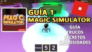 Magic Simulator, How to Level Up Fast and Make A Lot Of Money, Roblox English Tutorial Tutorial 1