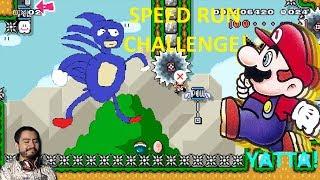Preparados, Listos... YATTA!! SpeedRuns! Super Mario Maker