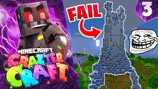 Minecraft Crazier Craft SMP Episode 3: Prank Fail