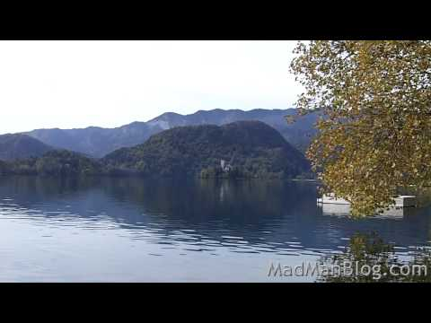 Bus Ride and a VIEW from Ljubljana to Bled (Slovenia)