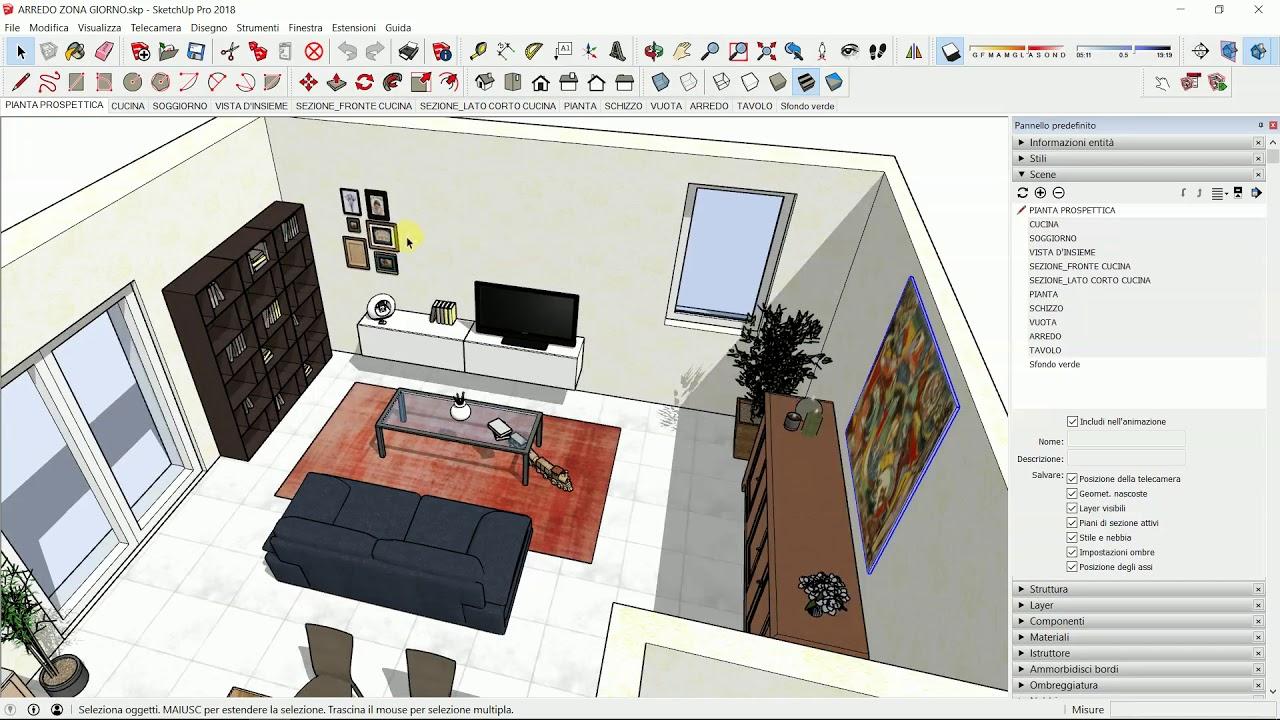 Software Arredamento Interni Gratis sketchup pro italia