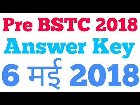 ggtu bstc answer key 2018 download