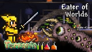 Terraria Let's Play - Eater of Worlds [19]