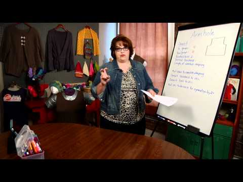 Adjusting Knit Patterns: Armhole Circumference and Cross Back Measurements