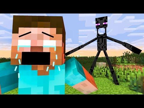 All Minecraft Life 2018 - MINECRAFT CHALLENGE - Minecraft Animation Temple Run, Subway Surfer 🔴