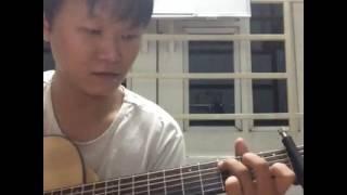 Tình Đơn Côi guitar solo 2 [Mitxi Tòng]