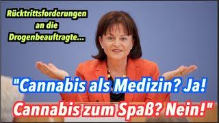 """Drogenbeauftragte: """"Cannabis als Medizin: Ja! Cannabis zum Spaß: Nein!"""""""