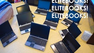 Auction Hauls: 10 HP Laptops / Elitebooks 8730W, 8440p , 6735s, 8710p