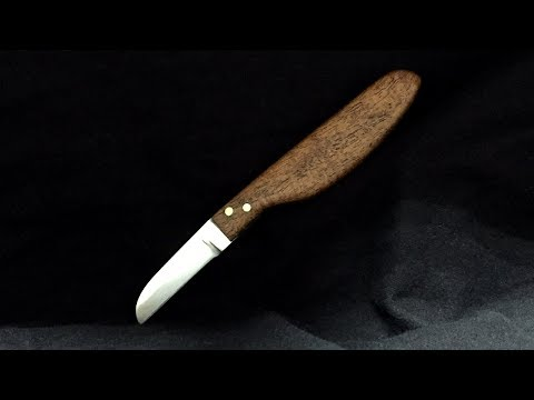 Simple Carving Knife - Limited Tools Build - DIY - Making It Yourself