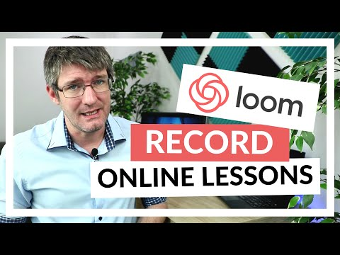 How to use Loom and record your lesson for Remote and Online learning