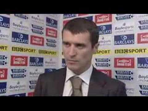 Sunderland 2-1 West Ham // Keane Interview 29/03/08