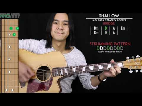shallow-guitar-cover---lady-gaga-&-bradley-cooper-🎸-|tabs-+-chords|