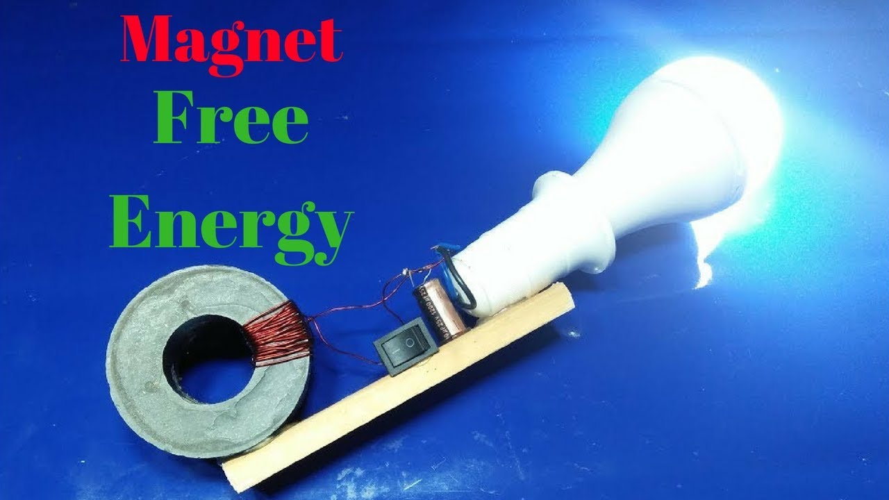 how to build free energy magnet and copper wire 100%real - YouTube