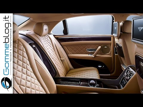Bentley Flying Spur: The Ultimate Luxury Sedan - INTERIOR Car Exterior Design [W12 Engine]