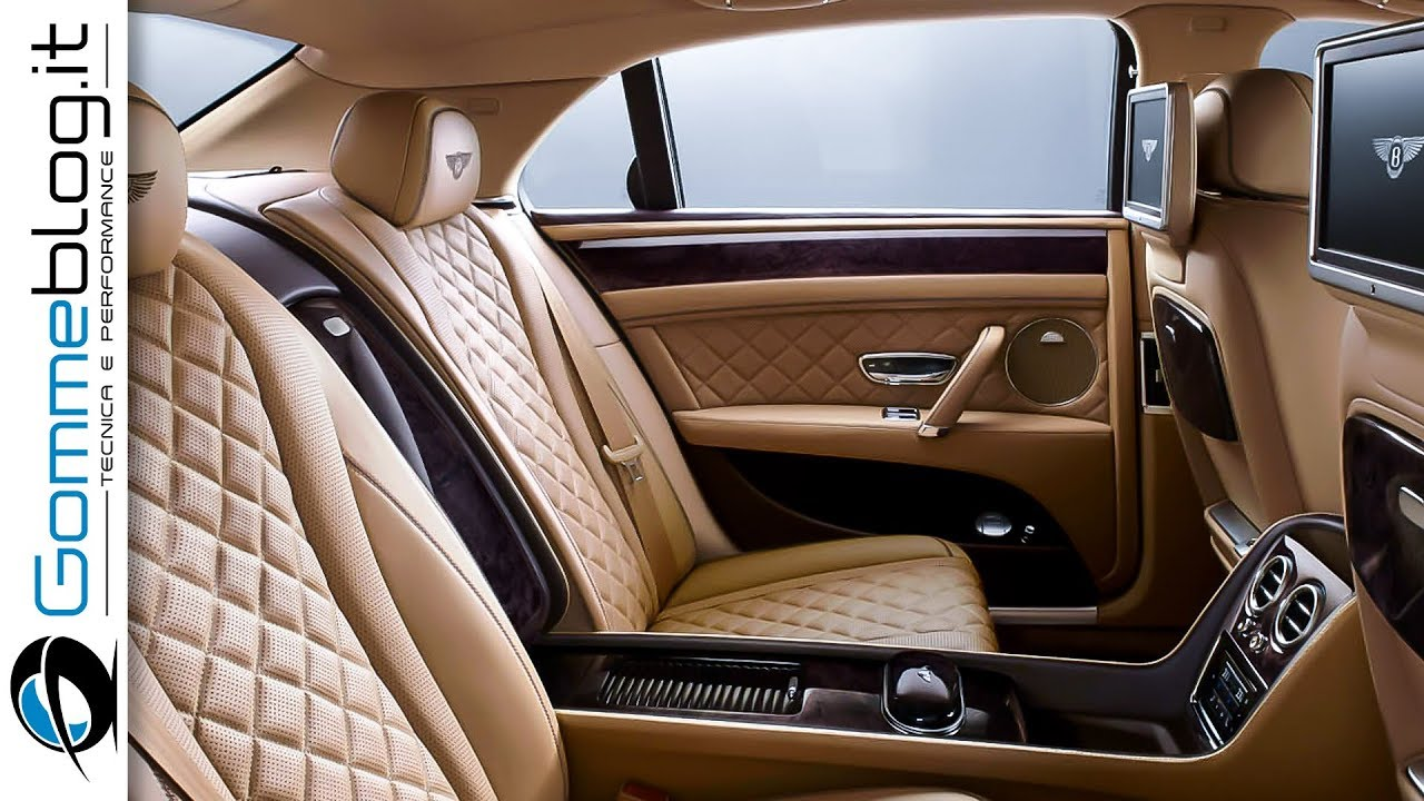 Bentley Flying Spur The Ultimate Luxury Sedan Interior Car