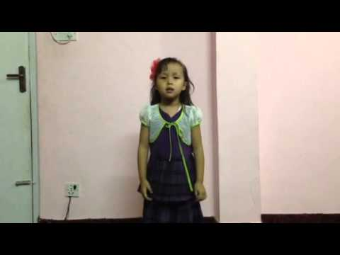 Action Song By My Daughter