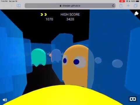 Pacman Web VR