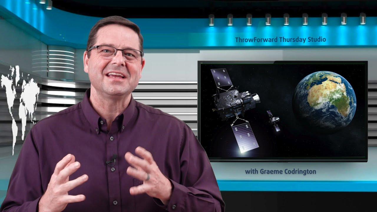 Throwforward Thursday: Solar Panels in Space