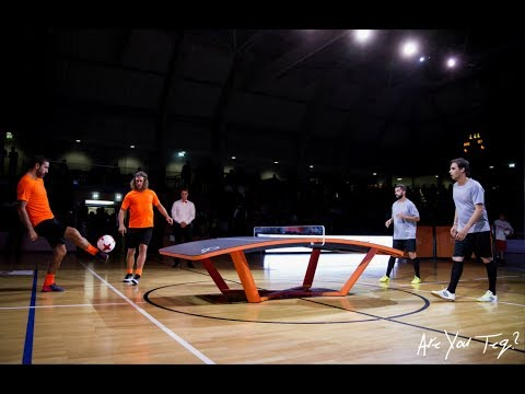 Highlight of the Teqball All Stars Cup in Luxembourg (Video: RTL)